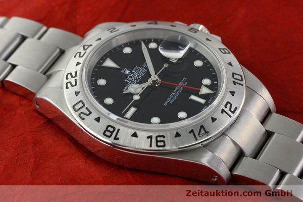 Used luxury watch Rolex Explorer II steel automatic Kal. 3185 Ref. 16570  | 141726 15
