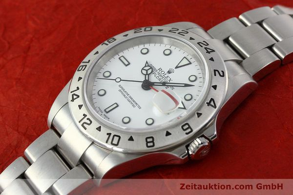 Used luxury watch Rolex Explorer II steel automatic Kal. 3185 Ref. 16570T  | 141728 01