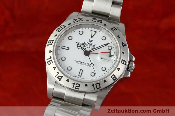 Used luxury watch Rolex Explorer II steel automatic Kal. 3185 Ref. 16570T  | 141728 04