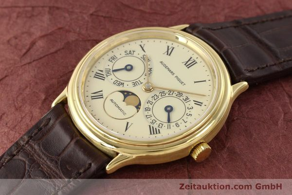 Used luxury watch Audemars Piguet Ewiger Kalender 18 ct gold automatic Kal. 2124 Ref. C37560  | 141730 01
