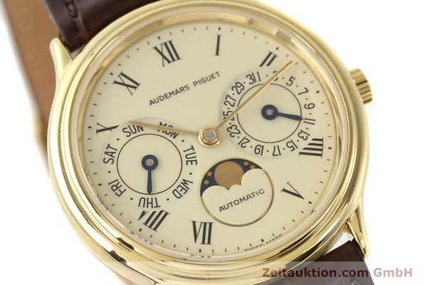 Used luxury watch Audemars Piguet Ewiger Kalender 18 ct gold automatic Kal. 2124 Ref. C37560  | 141730 02