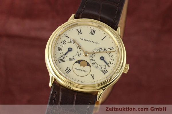 Used luxury watch Audemars Piguet Ewiger Kalender 18 ct gold automatic Kal. 2124 Ref. C37560  | 141730 04