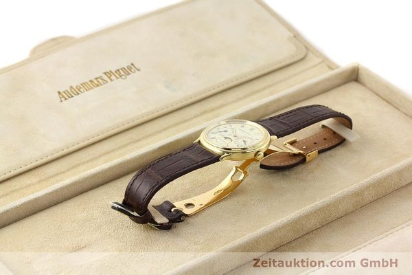 Used luxury watch Audemars Piguet Ewiger Kalender 18 ct gold automatic Kal. 2124 Ref. C37560  | 141730 07