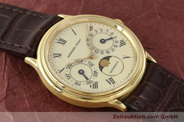 Used luxury watch Audemars Piguet Ewiger Kalender 18 ct gold automatic Kal. 2124 Ref. C37560  | 141730 17
