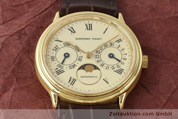 Used luxury watch Audemars Piguet Ewiger Kalender 18 ct gold automatic Kal. 2124 Ref. C37560  | 141730 18