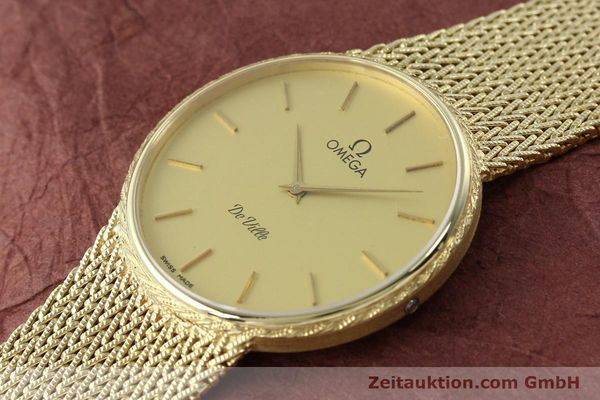Used luxury watch Omega De Ville 14 ct yellow gold quartz Kal. 1365 Ref. 3917028  | 141731 01
