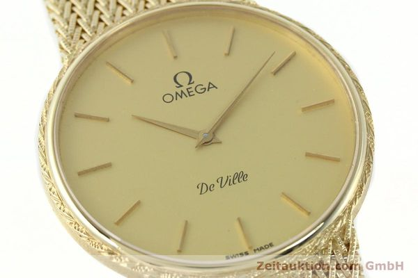 Used luxury watch Omega De Ville 14 ct yellow gold quartz Kal. 1365 Ref. 3917028  | 141731 02