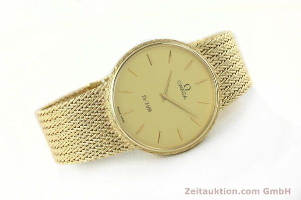 Used luxury watch Omega De Ville 14 ct yellow gold quartz Kal. 1365 Ref. 3917028  | 141731 03