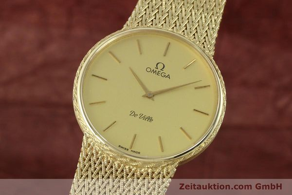 Used luxury watch Omega De Ville 14 ct yellow gold quartz Kal. 1365 Ref. 3917028  | 141731 04