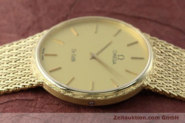 Used luxury watch Omega De Ville 14 ct yellow gold quartz Kal. 1365 Ref. 3917028  | 141731 05