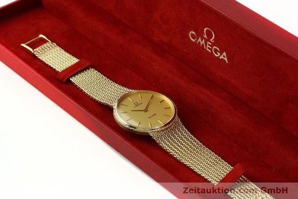 Used luxury watch Omega De Ville 14 ct yellow gold quartz Kal. 1365 Ref. 3917028  | 141731 07