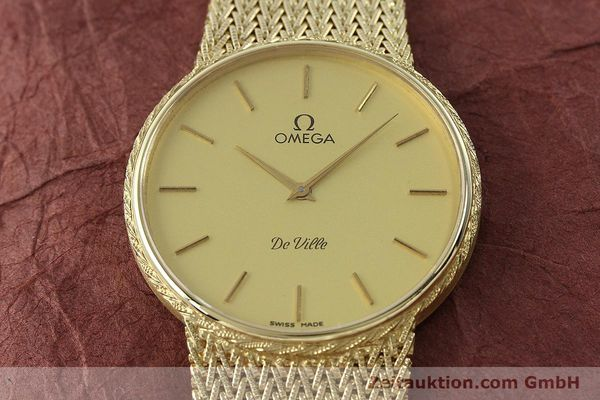 Used luxury watch Omega De Ville 14 ct yellow gold quartz Kal. 1365 Ref. 3917028  | 141731 15