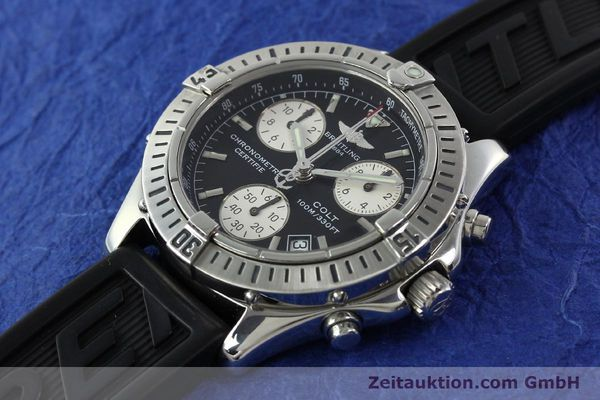 Used luxury watch Breitling Colt steel quartz Kal. B73 ETA 251232 Ref. A73350  | 141734 01