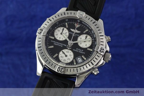 Used luxury watch Breitling Colt steel quartz Kal. B73 ETA 251232 Ref. A73350  | 141734 04