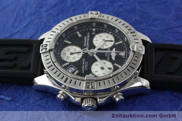 Used luxury watch Breitling Colt steel quartz Kal. B73 ETA 251232 Ref. A73350  | 141734 05