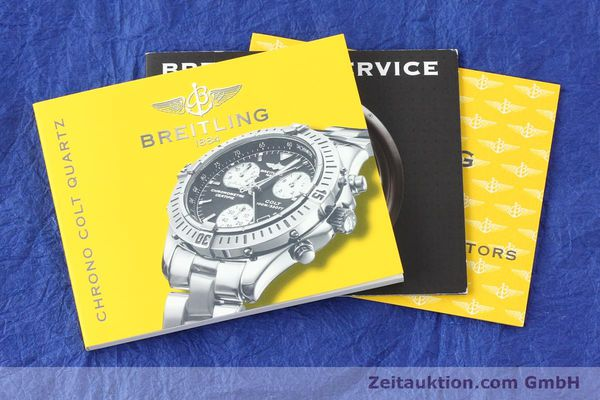 Used luxury watch Breitling Colt steel quartz Kal. B73 ETA 251232 Ref. A73350  | 141734 11
