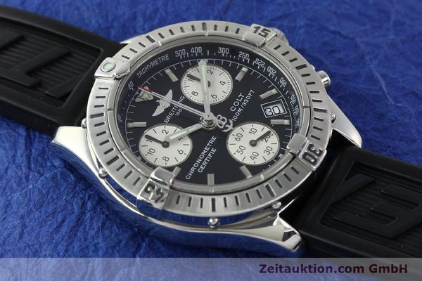 Used luxury watch Breitling Colt steel quartz Kal. B73 ETA 251232 Ref. A73350  | 141734 16