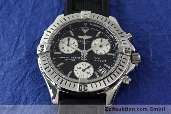 Used luxury watch Breitling Colt steel quartz Kal. B73 ETA 251232 Ref. A73350  | 141734 17