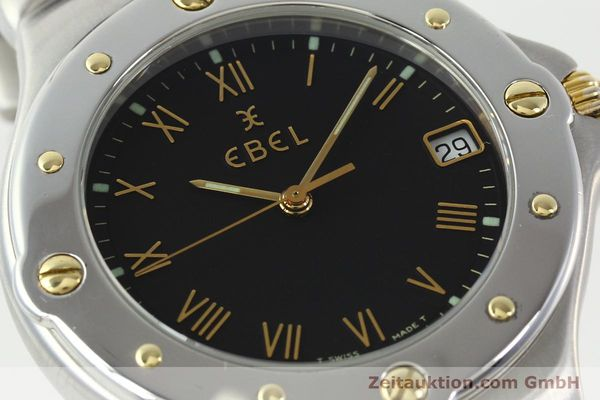 Used luxury watch Ebel Sportwave steel / gold quartz Kal. 187-1 Ref. E6187631  | 141735 02