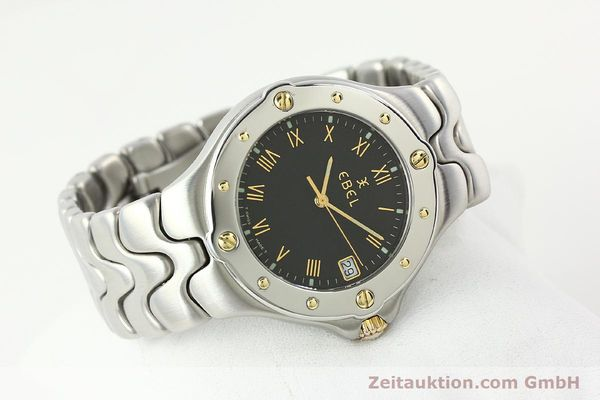Used luxury watch Ebel Sportwave steel / gold quartz Kal. 187-1 Ref. E6187631  | 141735 03