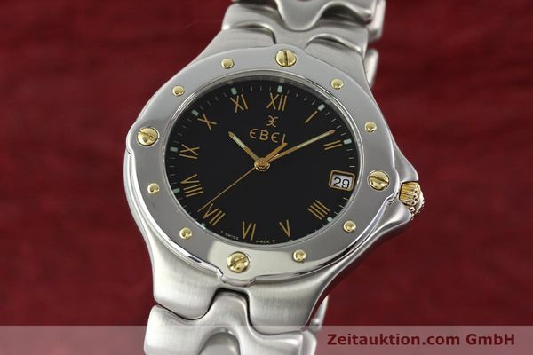 Used luxury watch Ebel Sportwave steel / gold quartz Kal. 187-1 Ref. E6187631  | 141735 04