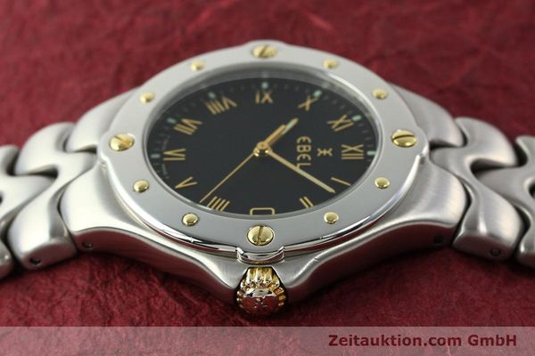 Used luxury watch Ebel Sportwave steel / gold quartz Kal. 187-1 Ref. E6187631  | 141735 05