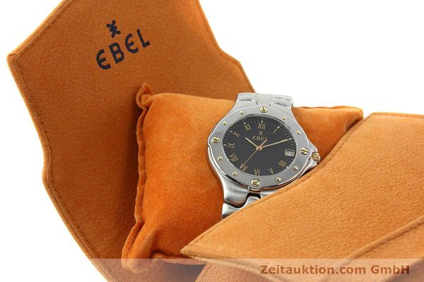 Used luxury watch Ebel Sportwave steel / gold quartz Kal. 187-1 Ref. E6187631  | 141735 07