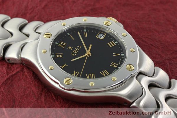 Used luxury watch Ebel Sportwave steel / gold quartz Kal. 187-1 Ref. E6187631  | 141735 13