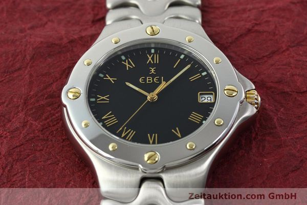 Used luxury watch Ebel Sportwave steel / gold quartz Kal. 187-1 Ref. E6187631  | 141735 14