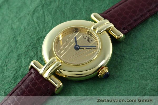 Used luxury watch Cartier Vermeil silver-gilt quartz Kal. 90  | 141736 01