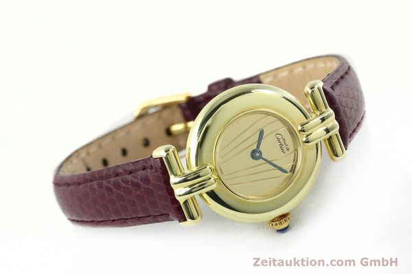 Used luxury watch Cartier Vermeil silver-gilt quartz Kal. 90  | 141736 03