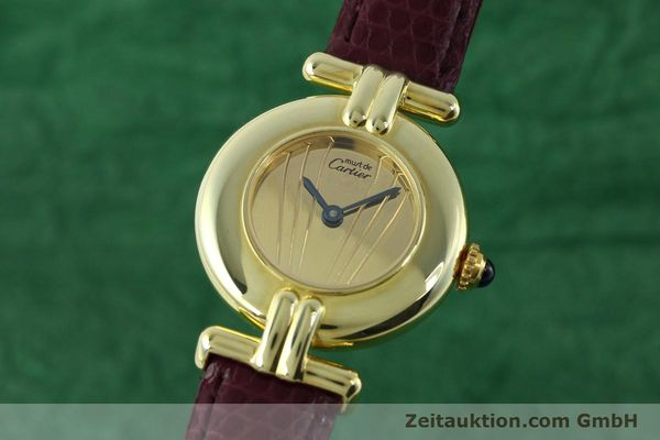 Used luxury watch Cartier Vermeil silver-gilt quartz Kal. 90  | 141736 04