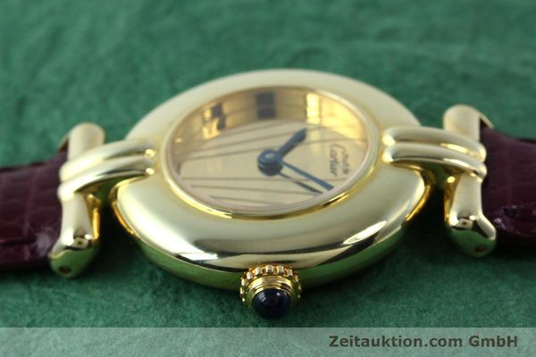 Used luxury watch Cartier Vermeil silver-gilt quartz Kal. 90  | 141736 05