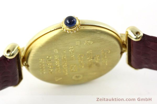 Used luxury watch Cartier Vermeil silver-gilt quartz Kal. 90  | 141736 08