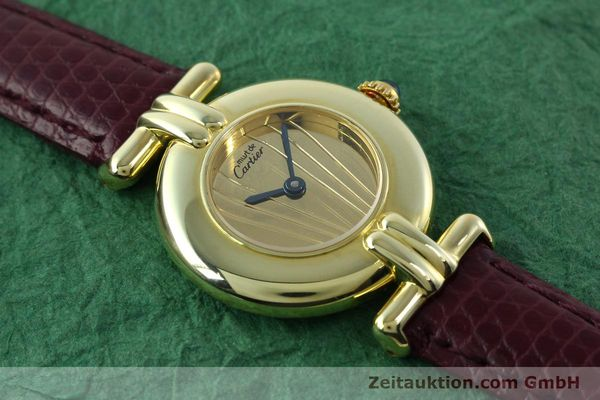 Used luxury watch Cartier Vermeil silver-gilt quartz Kal. 90  | 141736 12
