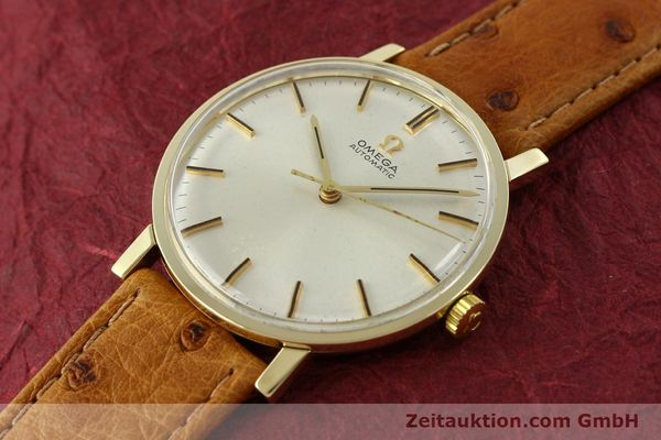 Used luxury watch Omega * 14 ct yellow gold automatic Kal. 552 Ref. 161009  | 141737 01