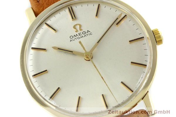 Used luxury watch Omega * 14 ct yellow gold automatic Kal. 552 Ref. 161009  | 141737 02