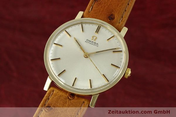 Used luxury watch Omega * 14 ct yellow gold automatic Kal. 552 Ref. 161009  | 141737 04