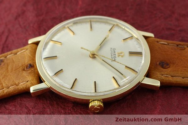 Used luxury watch Omega * 14 ct yellow gold automatic Kal. 552 Ref. 161009  | 141737 05