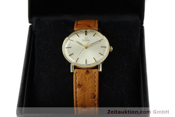 Used luxury watch Omega * 14 ct yellow gold automatic Kal. 552 Ref. 161009  | 141737 07