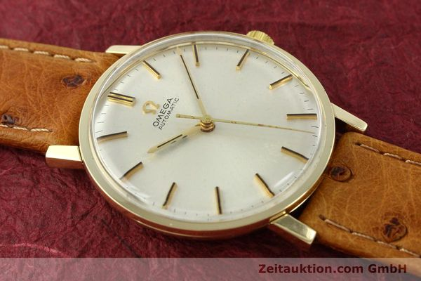 Used luxury watch Omega * 14 ct yellow gold automatic Kal. 552 Ref. 161009  | 141737 13