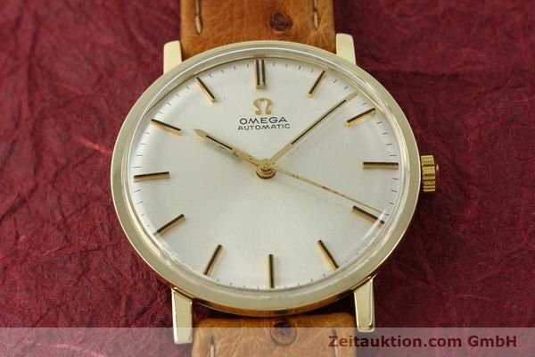 Used luxury watch Omega * 14 ct yellow gold automatic Kal. 552 Ref. 161009  | 141737 14