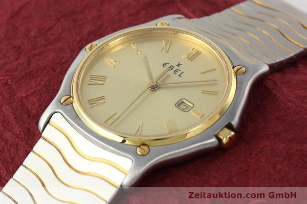 Used luxury watch Ebel Classic Wave steel / gold quartz Kal. 83 Ref. 183903  | 141739 01