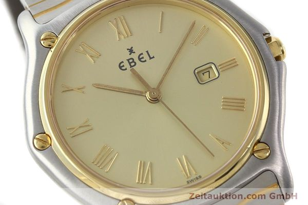 Used luxury watch Ebel Classic Wave steel / gold quartz Kal. 83 Ref. 183903  | 141739 02