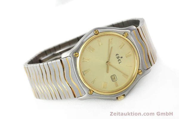 Used luxury watch Ebel Classic Wave steel / gold quartz Kal. 83 Ref. 183903  | 141739 03