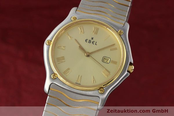 Used luxury watch Ebel Classic Wave steel / gold quartz Kal. 83 Ref. 183903  | 141739 04