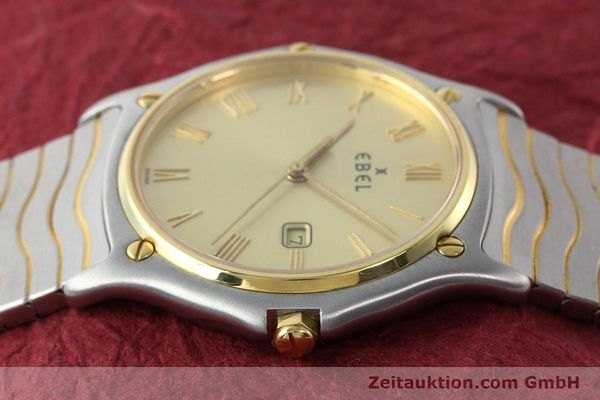 Used luxury watch Ebel Classic Wave steel / gold quartz Kal. 83 Ref. 183903  | 141739 05