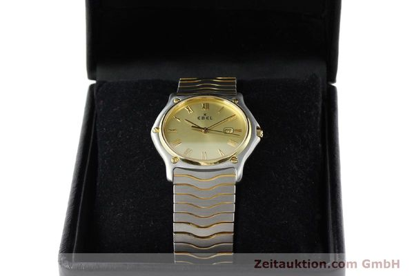 Used luxury watch Ebel Classic Wave steel / gold quartz Kal. 83 Ref. 183903  | 141739 07