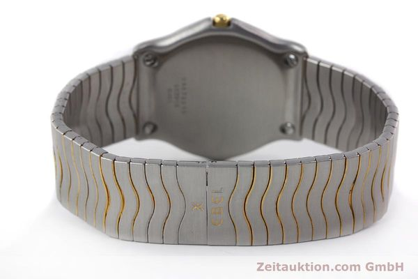 Used luxury watch Ebel Classic Wave steel / gold quartz Kal. 83 Ref. 183903  | 141739 10