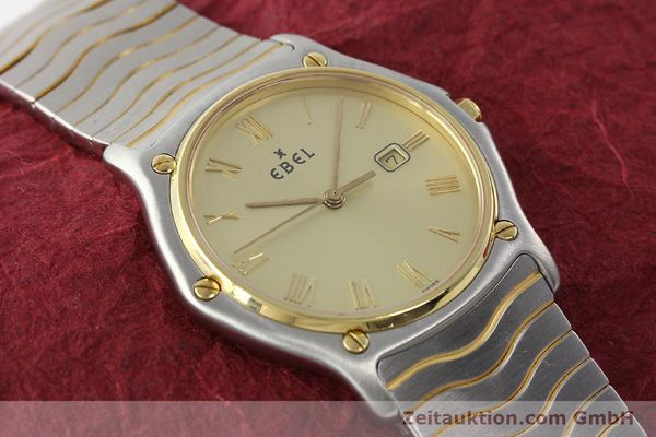 Used luxury watch Ebel Classic Wave steel / gold quartz Kal. 83 Ref. 183903  | 141739 12